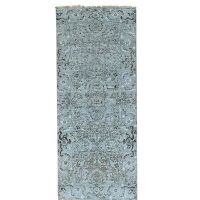 One-of-a-Kind Paquerette Undyed Natural Hand-Knotted Area Rug