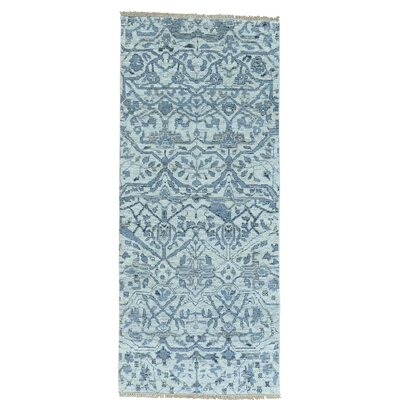 One-of-a-Kind Ledford Undyed Natural Oriental Hand-Knotted Area Rug