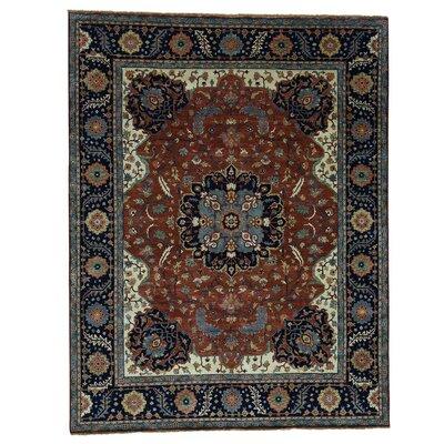 One-of-a-Kind Salzman Re-creation Oriental Hand-Knotted Area Rug