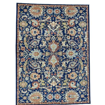 One-of-a-Kind Le Sirenuse All-Over Sultanabad Hand-Knotted Area Rug