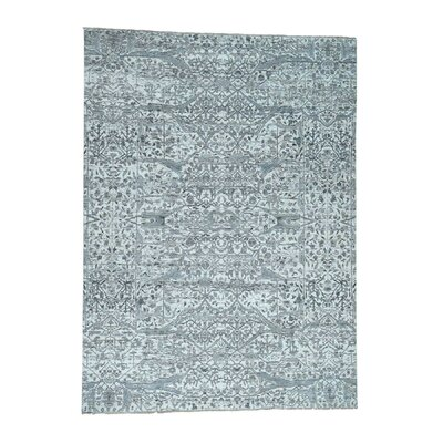 One-of-a-Kind Kennard Undyed Natural Oriental Hand-Knotted Area Rug