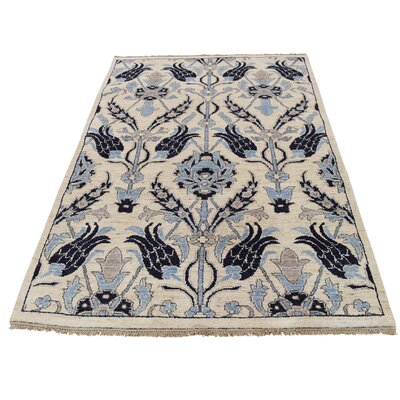 One-of-a-Kind Kensington Hand-Knotted Area Rug