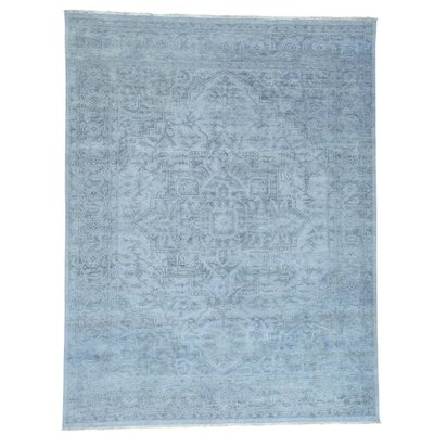 One-of-a-Kind Paquerette Undyed Natural Oriental Hand-Knotted Area Rug