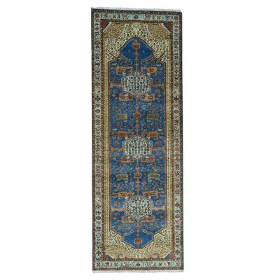 One-of-a-Kind Griego Natural Dyes High KPSI Oriental Hand-Knotted Area Rug
