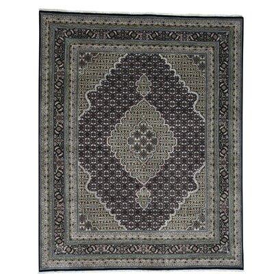 One-of-a-Kind Samons 250 Kpsi Mahi Hand-Knotted Silk Area Rug