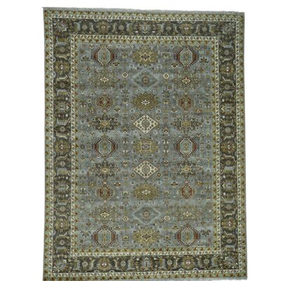 One-of-a-Kind Leafwood Oriental Hand-Knotted Area Rug