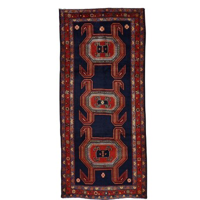One-of-a-Kind Greenawalt Hamadan Hand-Knotted Area Rug