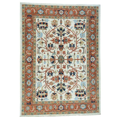 One-of-a-Kind Salzman Peshawar All-over Hand-Knotted Area Rug