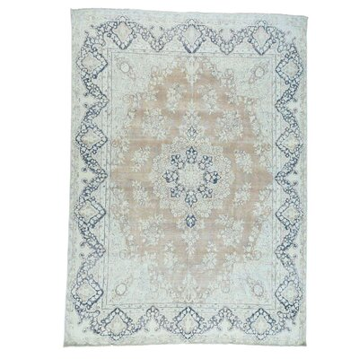 Kerman Hand-Knotted Pink Area Rug