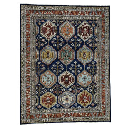 One-of-a-Kind Salzman Peshawar Oriental Hand-Knotted Area Rug