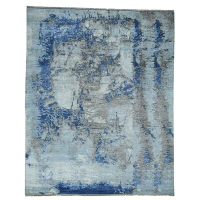 One-of-a-Kind Eddyville Peshawar Abstract Hand-Knotted Area Rug