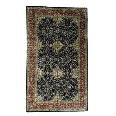One-of-a-Kind Salzer New Zealand Revival 300 Kpsi Gallery Hand-Knotted Area Rug