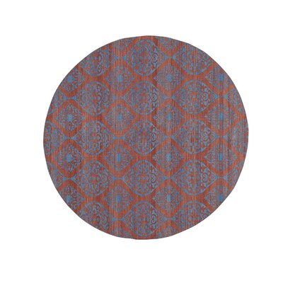 Flat Weave Reversible Durie Kilim Hand-Knotted Pink Area Rug