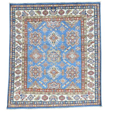 One-of-a-Kind Tillett Super Squarish Oriental Hand-Knotted Area Rug