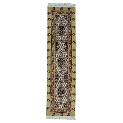 One-of-a-Kind Govan Boteh Oriental Hand-Knotted Area Rug