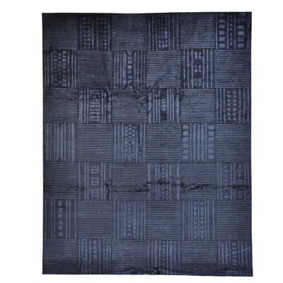 One-of-a-Kind Grahm Nepali Oriental Hand-Knotted Silk Area Rug