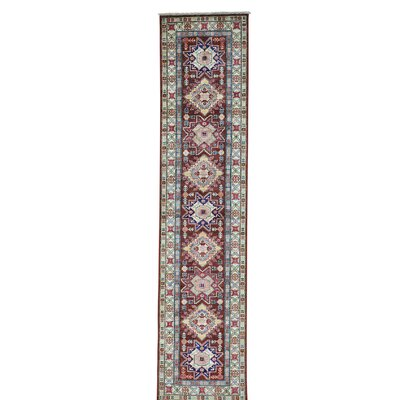 One-of-a-Kind Tillman Super Chocolate Brown Oriental Hand-Knotted Area Rug