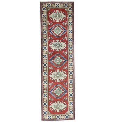 One-of-a-Kind Tillett Geometric Hand-Knotted Area Rug