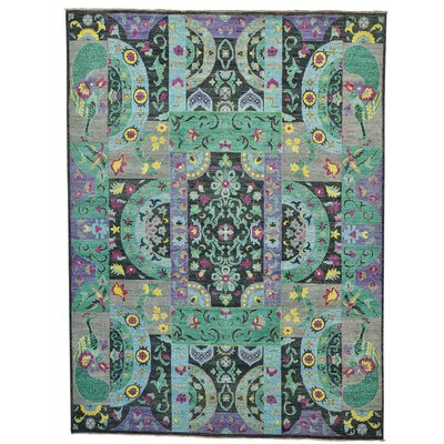One-of-a-Kind Schrader Hand-Knotted Area Rug
