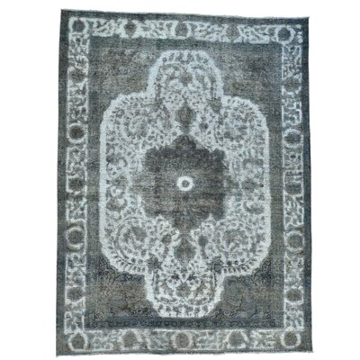One-of-a-Kind Kendrick Barjasta Overdyed Vintage Hand-Knotted Area Rug