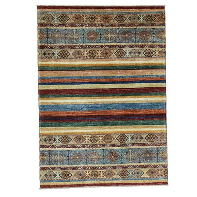 One-of-a-Kind Tillotson Super Khorjin Oriental Hand-Knotted Area Rug