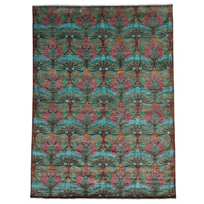 One-of-a-Kind Maulik Hand-Knotted Area Rug