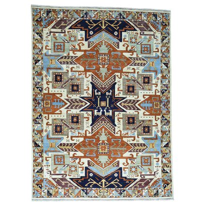One-of-a-Kind Tillotson Geometric Super Hand-Knotted Area Rug