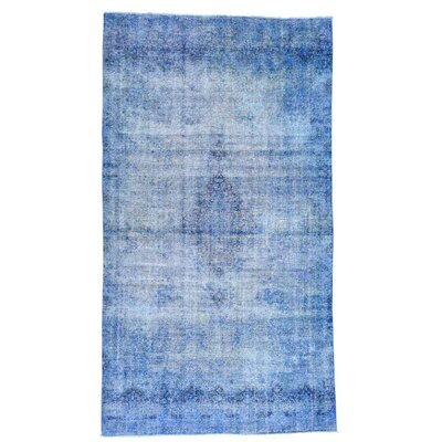 One-of-a-Kind Jacalyn Overdyed Oriental Hand-Knotted Area Rug