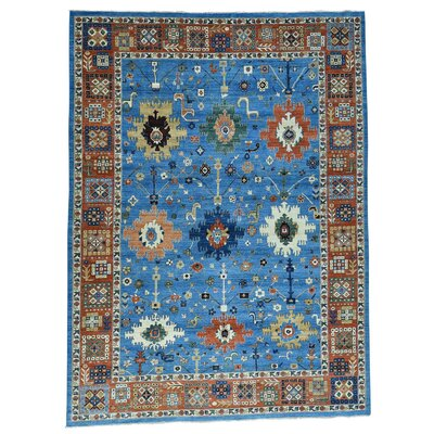One-of-a-Kind Lavinia Peshawar Oriental Hand-Knotted Area Rug