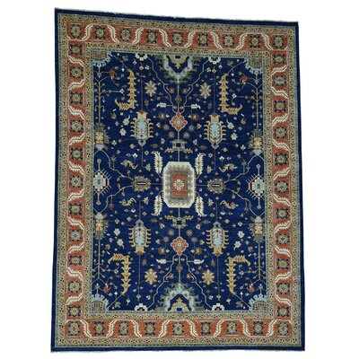 One-of-a-Kind Salvato Peshawar Hand-Knotted Area Rug