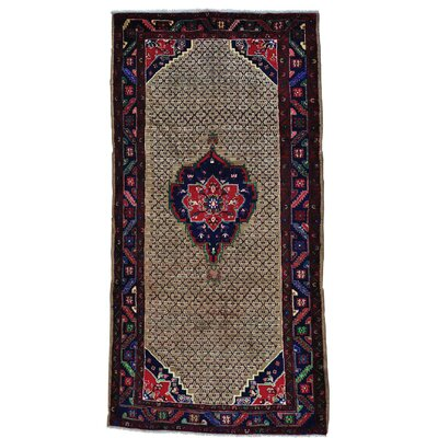 One-of-a-Kind Grasmere Serab Camel Hair Oriental Hand-Knotted Area Rug