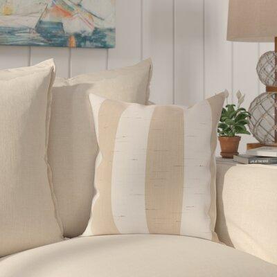 Halligan Indoor/Outdoor Sunbrella Throw Pillow Color: Spectrum Sand