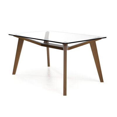 Lavinia Dining Table Base Color: Light Walnut