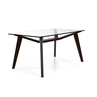 Lavinia Dining Table Base Color: Coffee