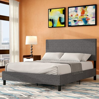 Pulliam Upholstered Panel Bed Size: Queen