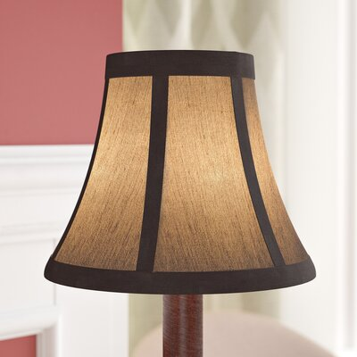 6 Fabric Bell Lamp Shade Finish: Bronze
