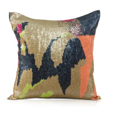 Holi Linen Throw Pillow