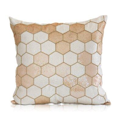 Chaata Linen Throw Pillow Color: Blush