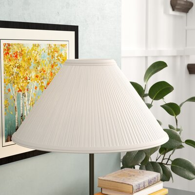 21 Linen Empire Lamp Shade Color: White