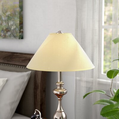 13 Linen Empire Lamp Shade Color: Champagne