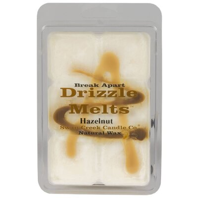 Drizzle Hazelnut Scented Wax Melt Candle 02207