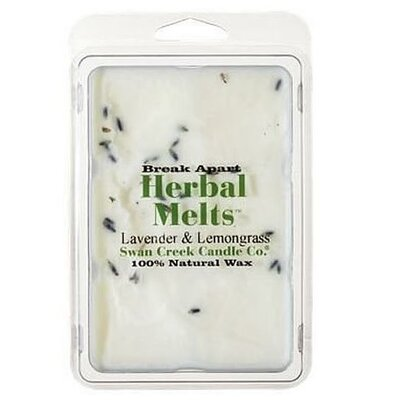 Drizzle Lavender & Lemongrass Scented Wax Melt Candle 02285