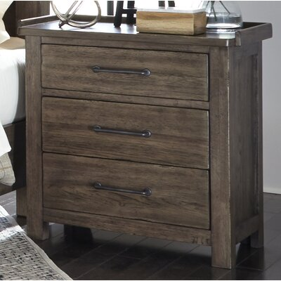 Clayton 3 Drawer Night Stand