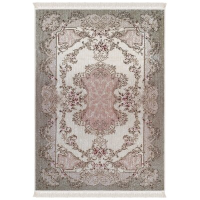 Humphery Brown/Pink Area Rug