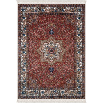Fondren Red Area Rug