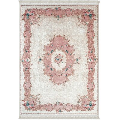Rowberrow Pink Area Rug