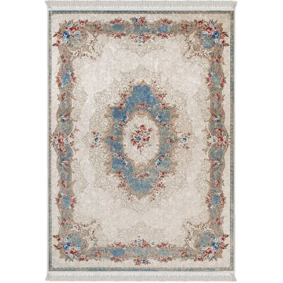 Upper Vobster Beige/Blue Area Rug