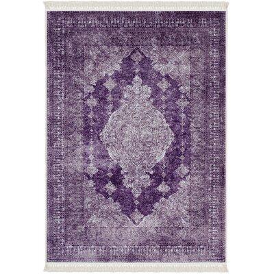 Polzin Purple Area Rug