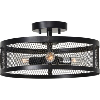 Melchior 3-Light Semi Flush Mount