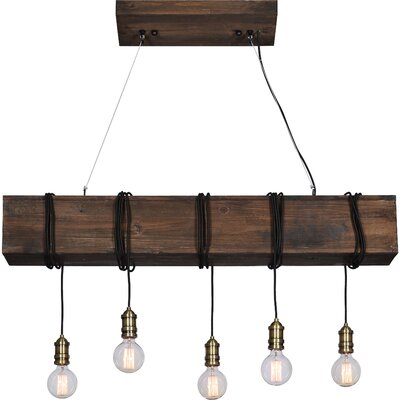 Memphis 5-Light Kitchen Island Pendant